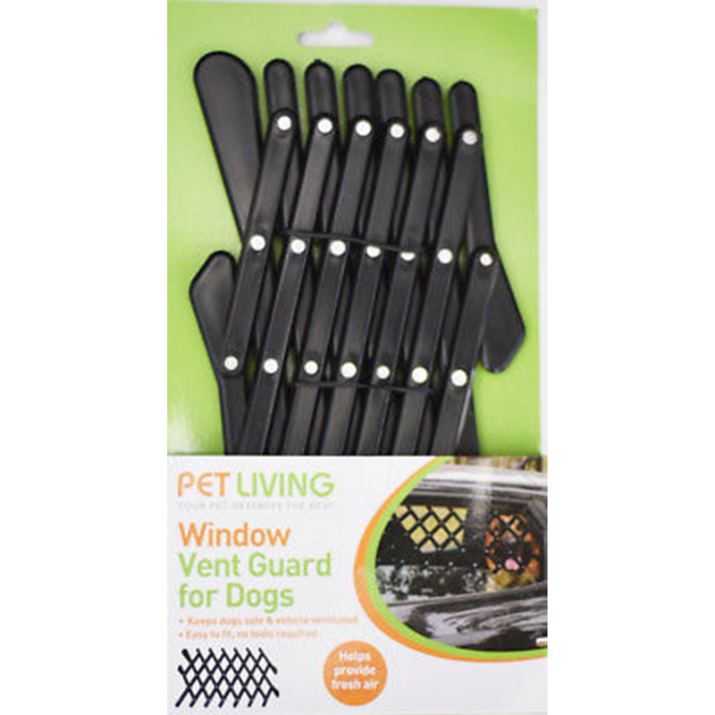 PET LIVING Window Vent Guard for Dogs