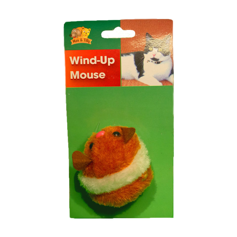 Max & Tilly Wind-Up Mouse - Amin Pet Shop