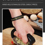 Stainless Steel Garlic Press