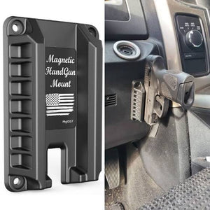 Tactical Magnetic Gun Mount For Car Concealed Quick Draw