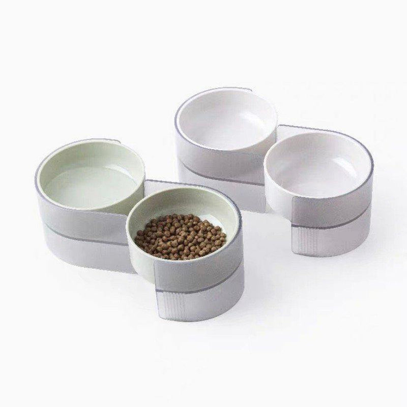 Pidan Dual Bowl For Cats - OzCat Pet Supplies