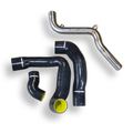 SteamSpeed Focus RS Intercooler High-Flow Pipe and Hose Kit (black & yellow)