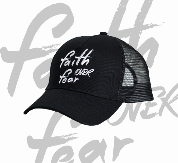 Faith Over Fear | Bandana Collar - Rockstardog
