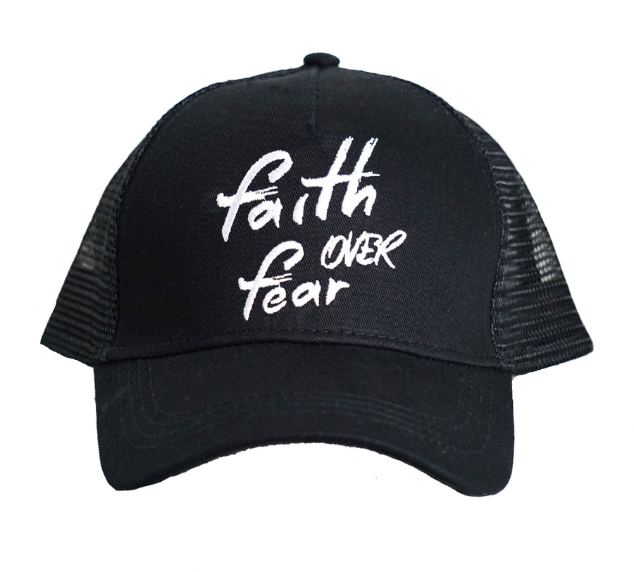 Faith Over Fear | Hat and Mask - Rockstardog