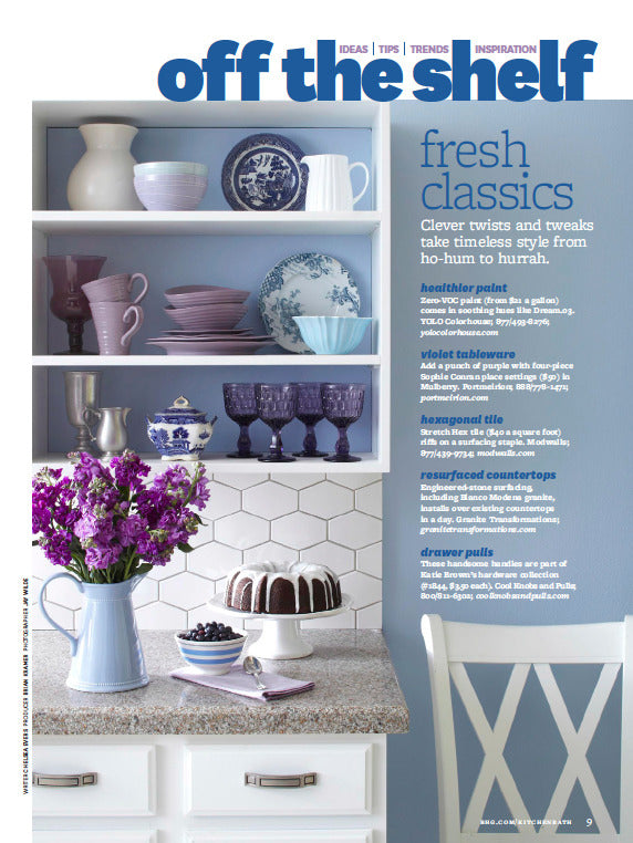 Furbish Studio in Better Homes and Gardens Spring 2014 image 1
