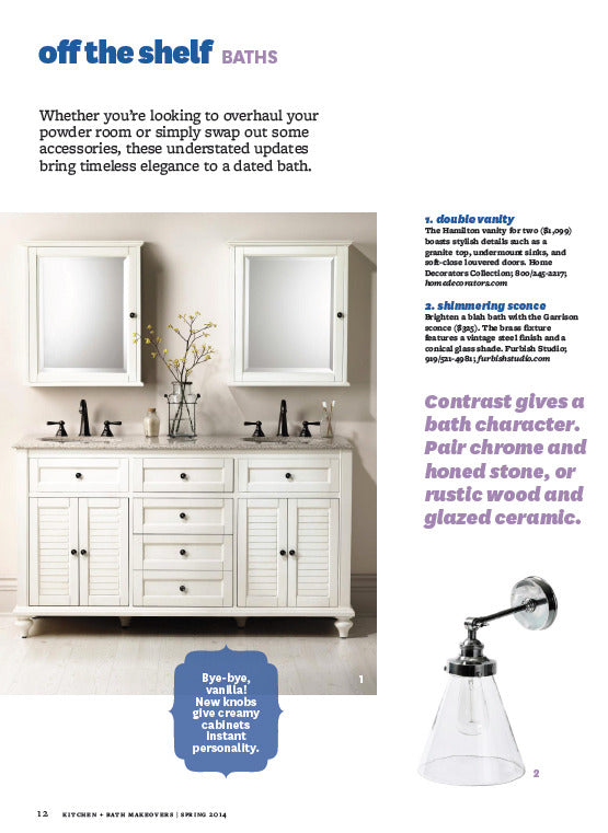 Furbish Studio in Better Homes and Gardens Spring 2014 image 2