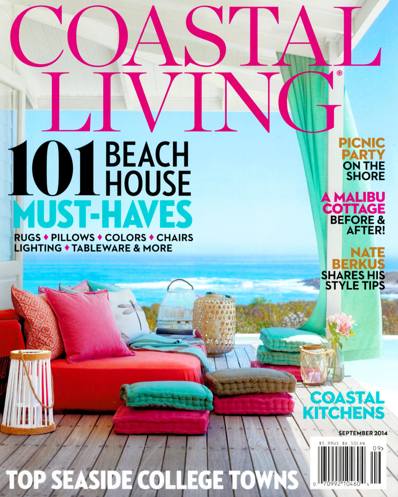 Furbish Studio in Coastal Living Magazine September 2014 image 1