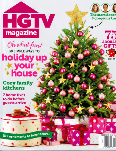 Furbish Studio in HGTV Magazine December 2013 image 1