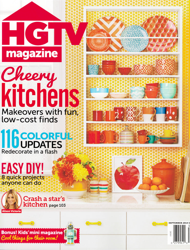 Furbish Studio in HGTV Magazine September 2014 image 1