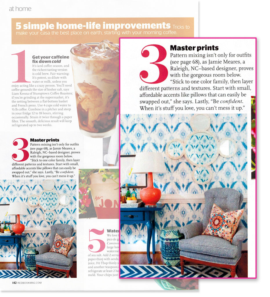 Furbish Studio in Redbook Magazine July 2014 image 2