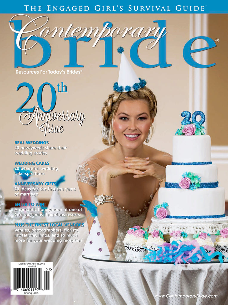 furbish studio in contemporary bride magazine april 2015 image 1