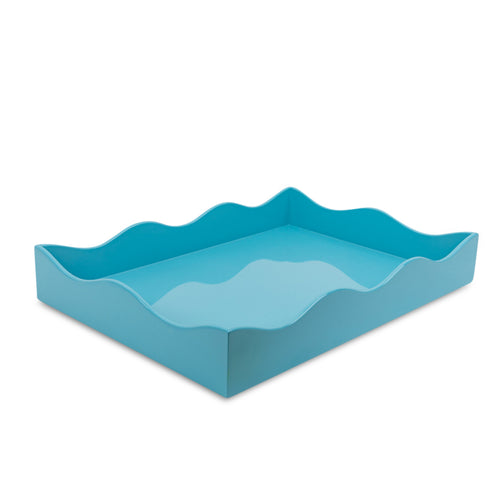 Medium Belles Rives Tray - Bluebird