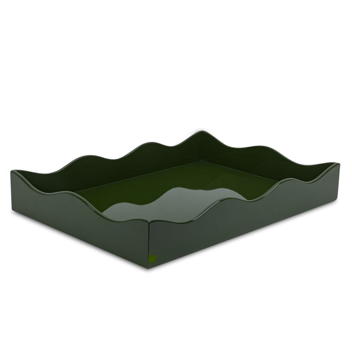 Small Belles Rives Tray - Olive Green