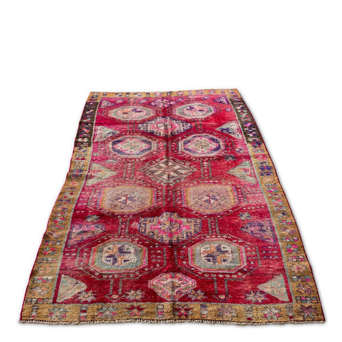 Furbish Studio - Griffin Vintage Rug angled view of entire rug