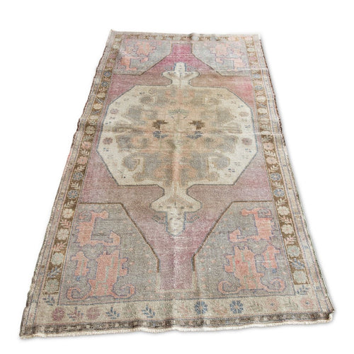 Furbish Studio - Meades Vintage Rug angled full view