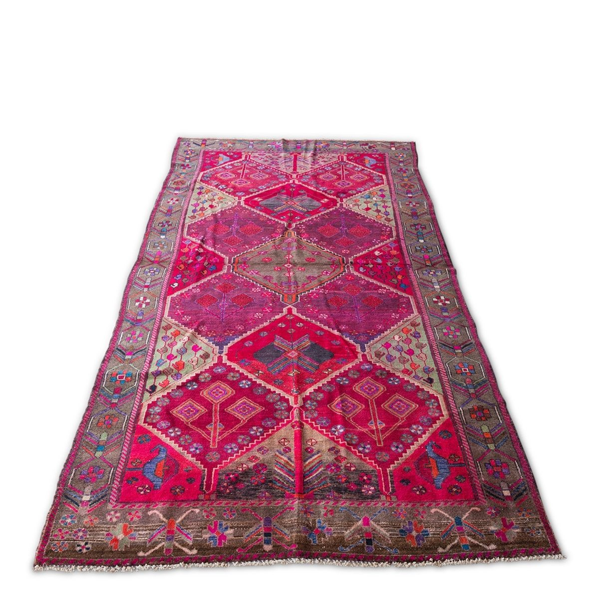 Furbish Studio - Monikah Vintage Rug angled full view