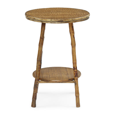 Antique Tortoise English Round Table