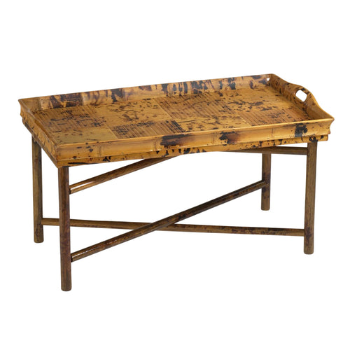 Antique Tortoise Tray Coffee Table