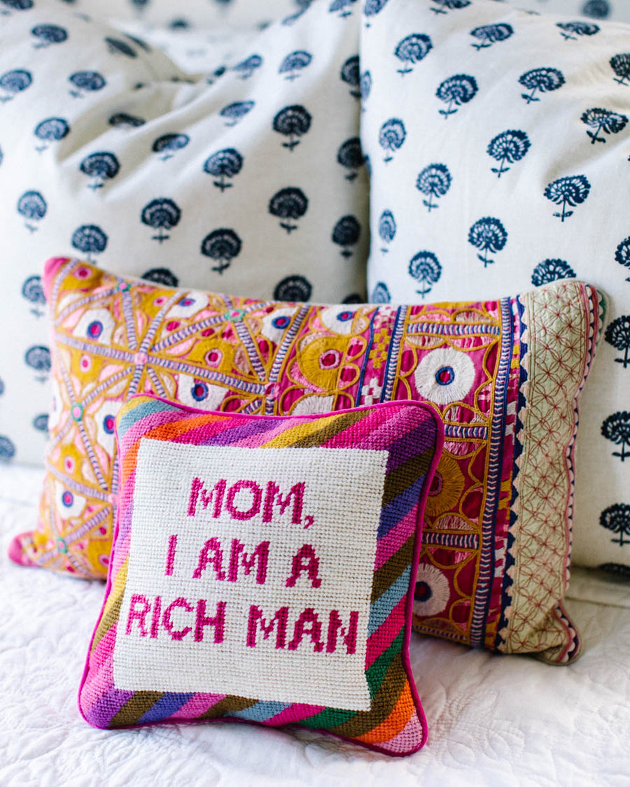 Cher Knows Best Needlepoint Pillow