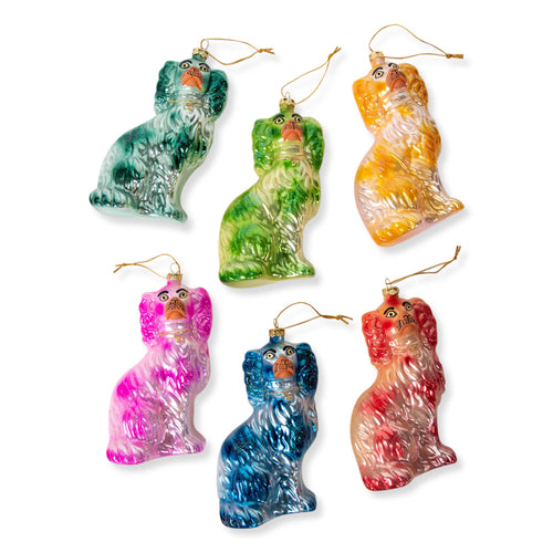 Staffordshire Dog Ornaments S/6