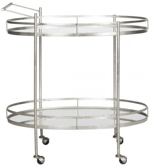 Silver Fox Bar Cart