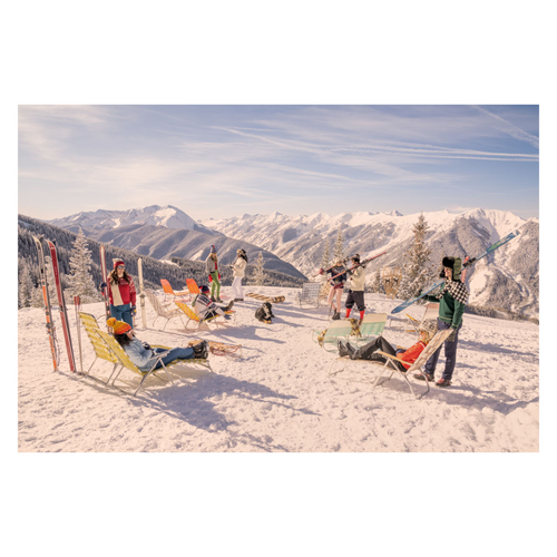 Aspen Mountain Sun Loungers by Gray Malin