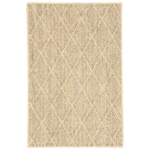 Furbish Studio - Diamond Patterned Sisal Rug in Sand Color