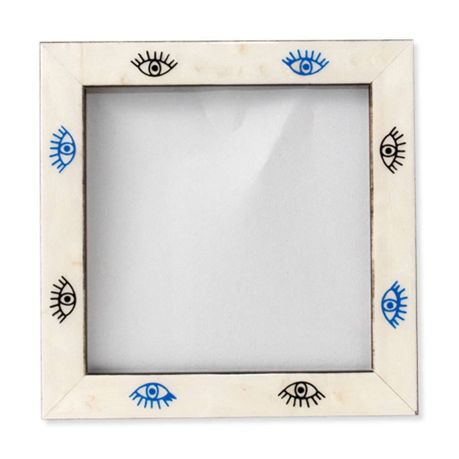Furbish Studio - Blue and Black Evil Eye Frame 4 x 4 front view