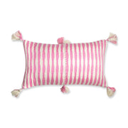 Furbish Studio - Antigua Lumbar in Pink with tassels