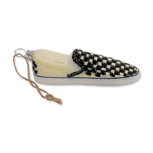 Furbish Studio - Checkered Vans Ornament