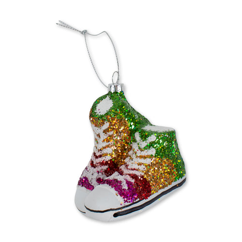 Furbish Studio - Glitter Converse High Tops Ornament