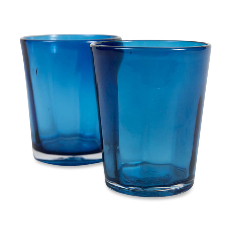 FURBISH STUDIO - Seychelles Glasses in blue front view