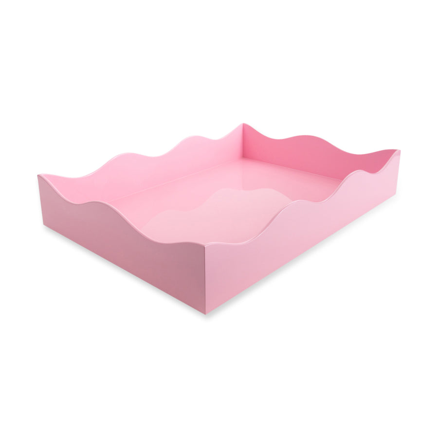 Furbish Studio - Large Belles Rives Tray in soft Pink