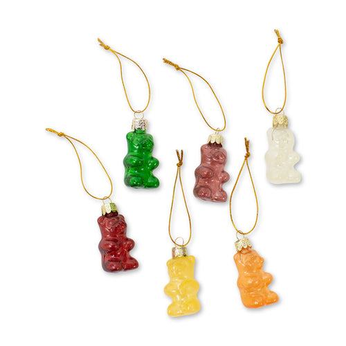 Furbish Studio - Gummy Bear Ornaments Set of 6