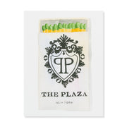 Furbish Studio - The Plaza NY Matchbook Watercolor Print unframed
