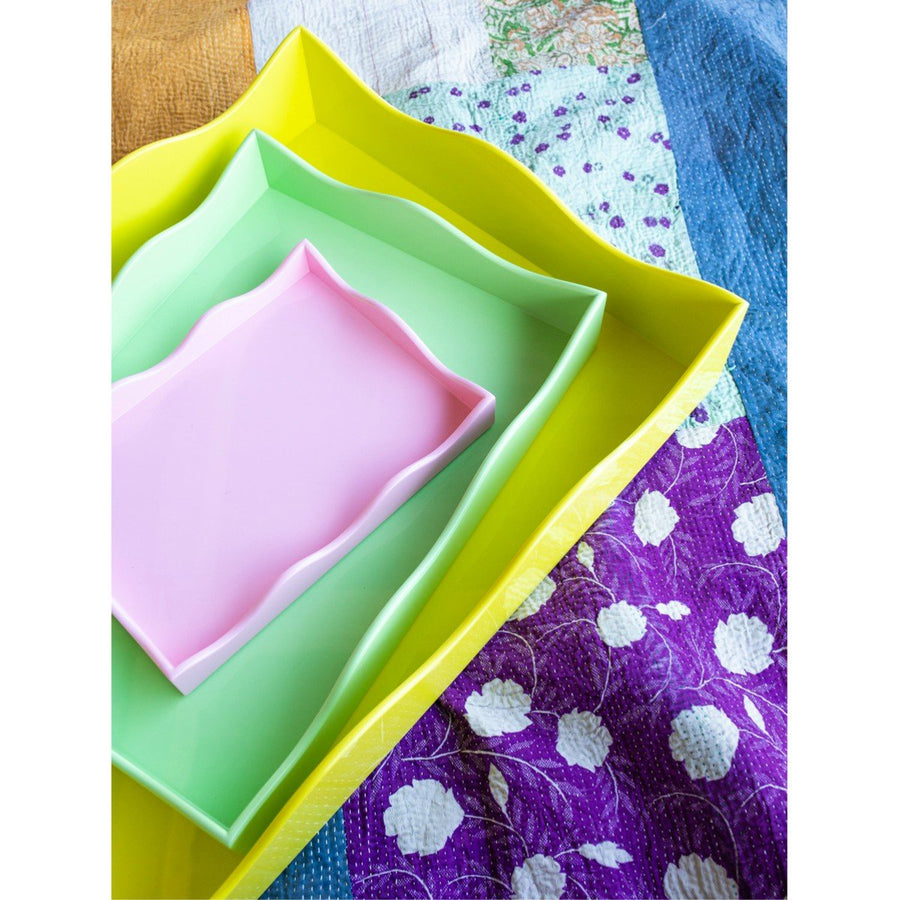 Small Belles Rives Tray - Pink