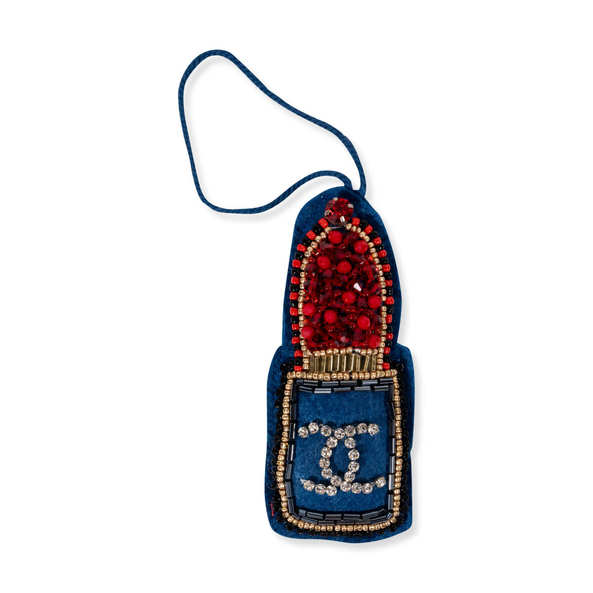 Furbish Studio - Beaded and Jeweled Lipstick Ornament