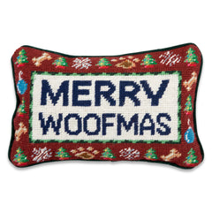 Merry Woofmas Pillow