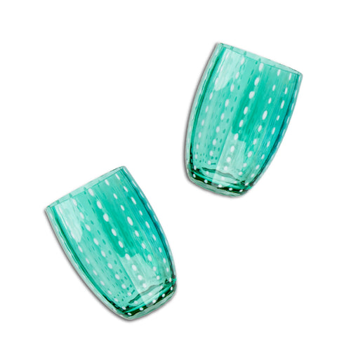 Furbish Studio - Modena Tumblers in Green