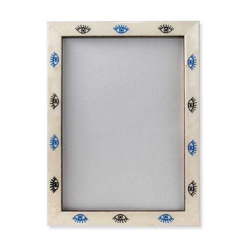 Furbish Studio - Blue and Black Evil Eye Frame 5 x 7 front view