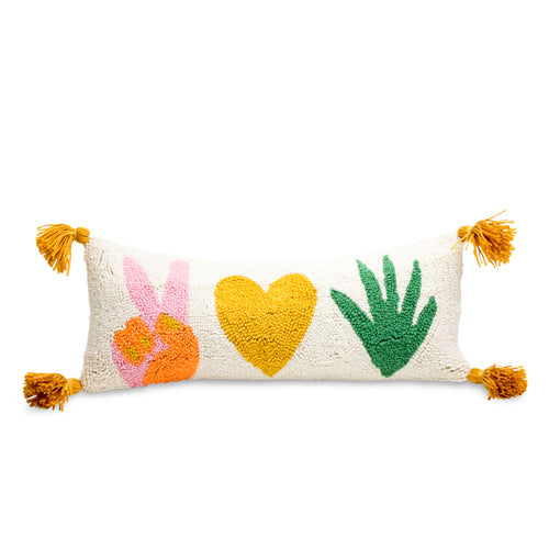 Peace & Love Pillow
