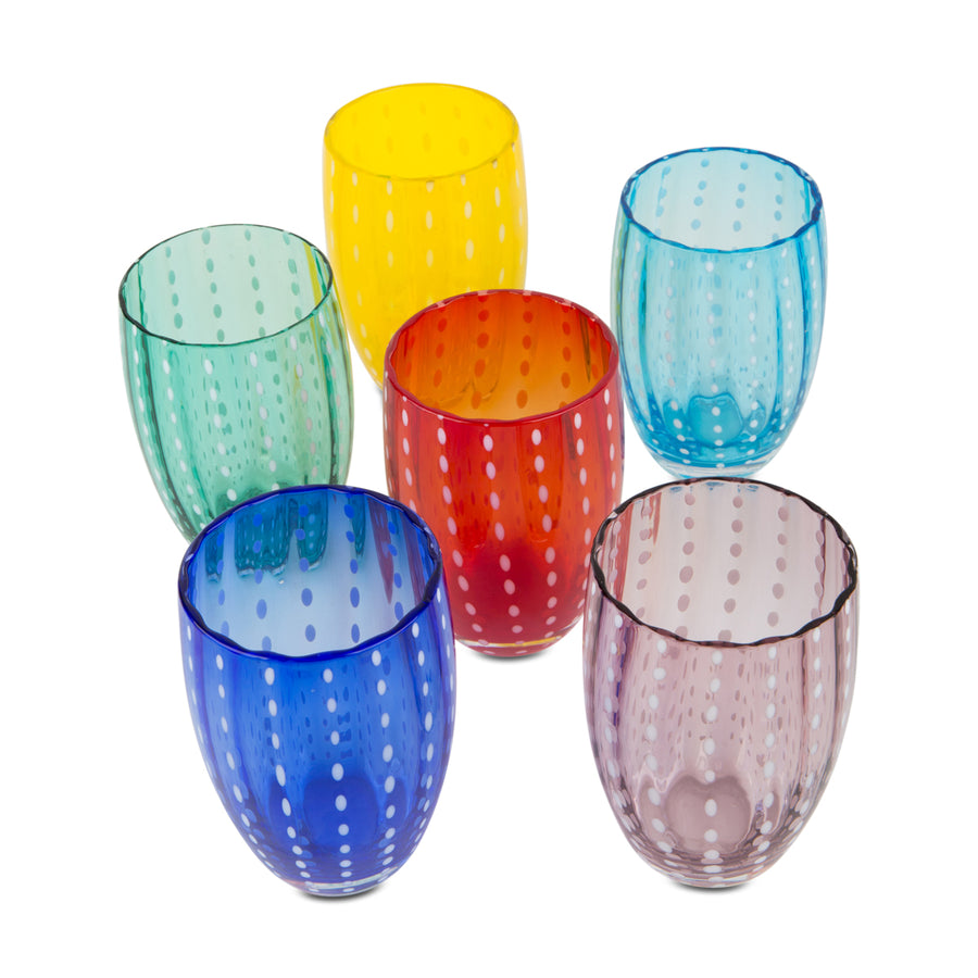 Furbish Studio - Modena Tumblers showing all colors available