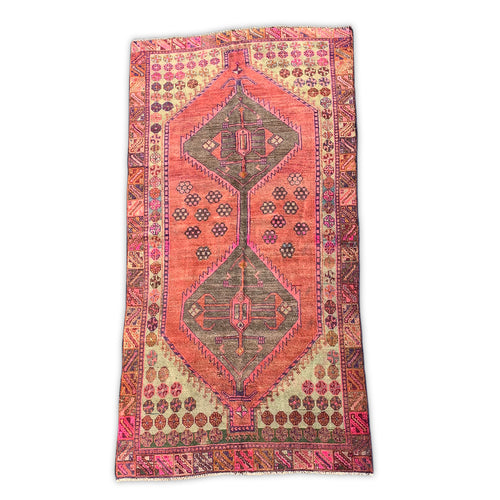 Furbish Studio - Ganni Vintage Rug 4.2' x 8.5' view of full rug