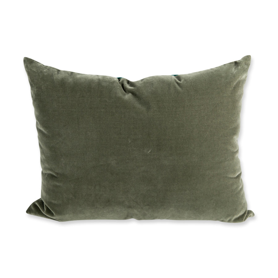 Hopkins Velvet Pillow - Spruce + Artichoke