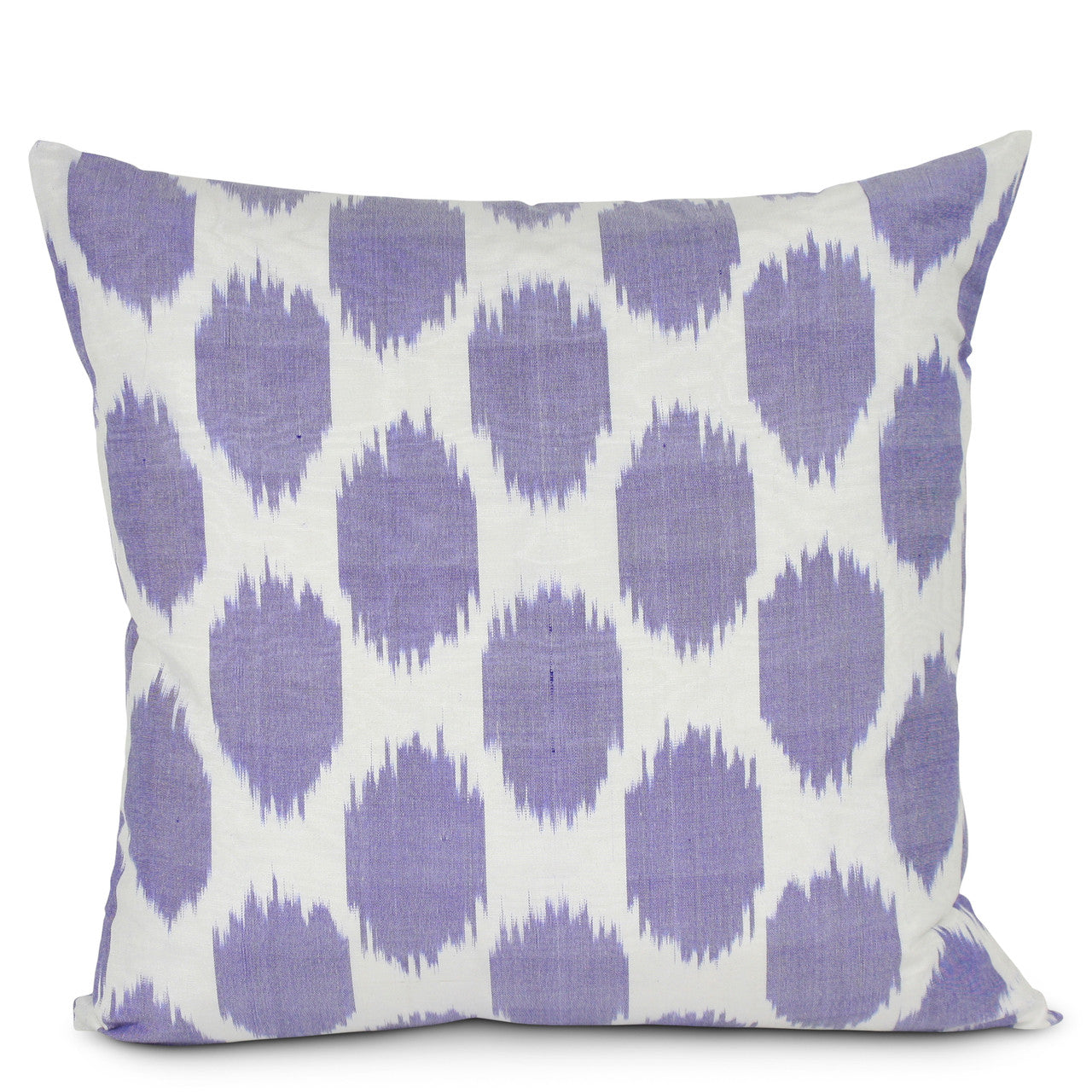 Lavender Spotted Silk Pillow