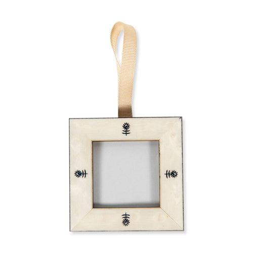 Furbish Studio - Mini Furbish Flower Frame Ornament