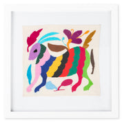 Furbish Studio - Small Framed Otomi Embroidered Art