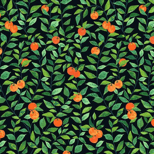 Orange Grove Wallpaper - Onyx