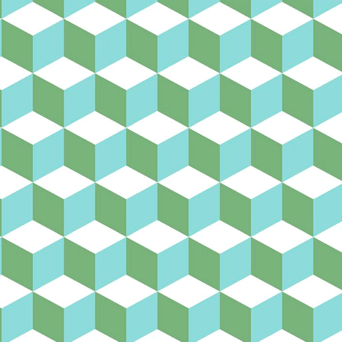 Qbert Classic Removable Wallpaper - Pastel