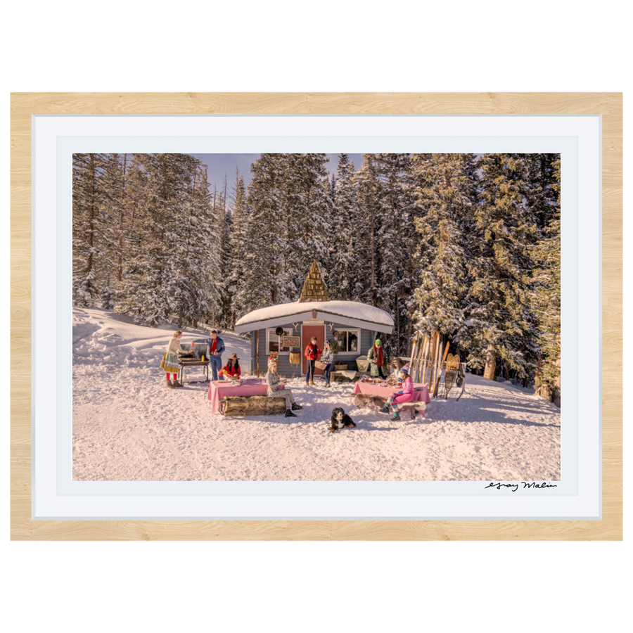 Buckhorn Cabin Picnic, Aspen Mountain by Gray Malin
